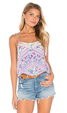 Spell & The Gypsy Collective Babushka Top in Lavender