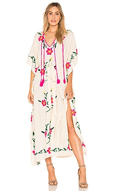 Sayulita Embroidered Kaftan