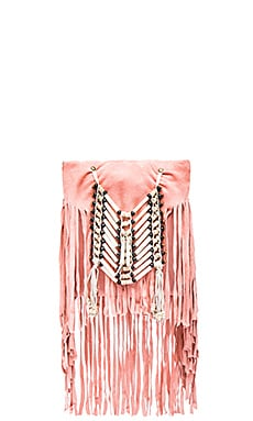 Spell & The Gypsy Collective Wild Belle Cross Body Pouch in Coral