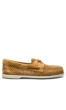 Sperry Top-Sider A/O 2 Eye Laser Perf in Brown