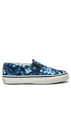 Sperry Top-Sider Striper S/O Webbing in Blue