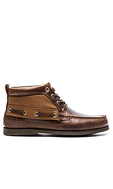 Sperry Top-Sider A/O Boat Chukka Duck Cloth in Tan