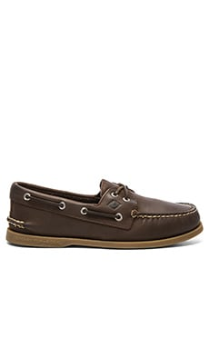 Sperry Top-Sider A/O 2 Eye Cross Lace in Brown
