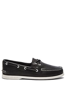 Sperry Top-Sider A/O 2 Eye in Black & White