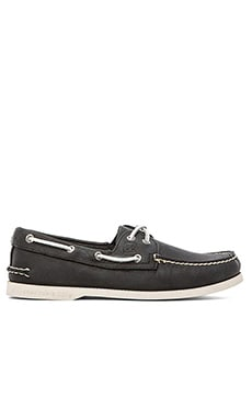 Sperry Top-Sider A/O 2-Eye in Black/White