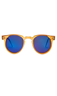 Spitfire Teddyboy in Orange & Blue Mirror