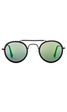 Spitfire Technotronic 5 in Black & Green Mirror