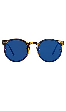 Spitfire Post Punk in Tortoise Shell & Blue Mirror