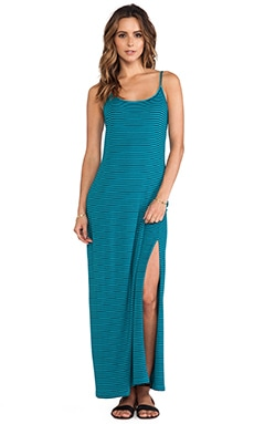 Striped Maxi Dress in Capri