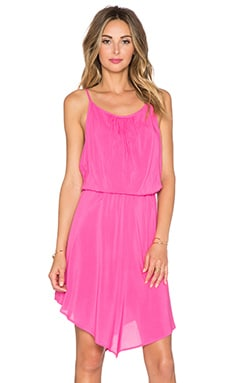 Splendid Rayon Voile Halter Dress in Bloom