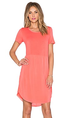 Splendid Rayon Voile Shift Dress in Blaze