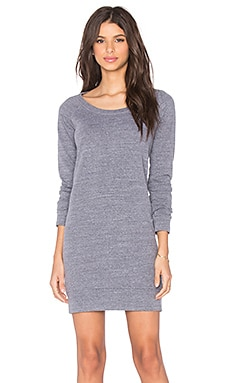 Sweatshirt Dress in Heather Grey