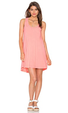 Splendid Vintage Whisper Tank Dress in Vintage Sunkissed Pink