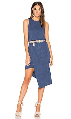 Hi Low Tank Dress in Moonlight Blue
