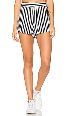 Boardwalk Stripe Short in Navy
