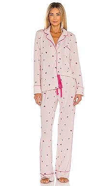 Notch Collar Pajama Set Splendid $78