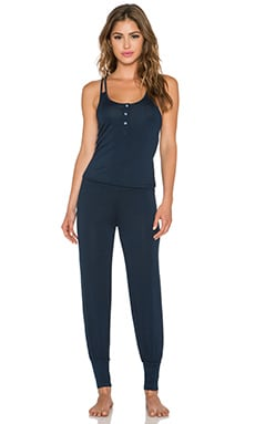 Splendid Genie Jumpsuit in Black Iris