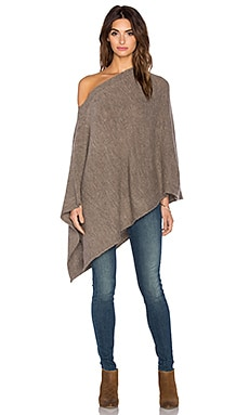 Splendid Cabin Side Poncho in Nutmeg