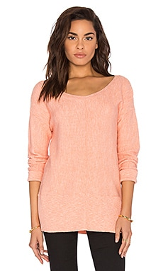 Splendid Whitney Sweater in Peach Bud