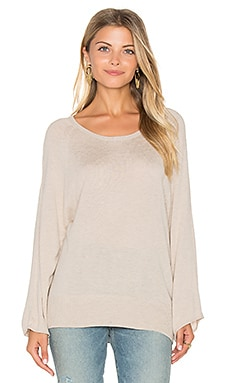 Splendid Femme Sweater in Heather Wheat