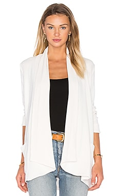 Splendid Sylvie Rib Cardigan in Cream