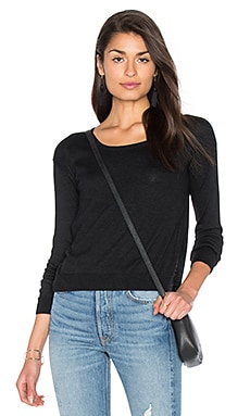 Crop Sweater en Noir