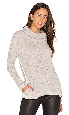 Double Face Loose Knit Pullover en Lino