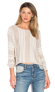 Bayside Sweater in Oatmeal & Natural