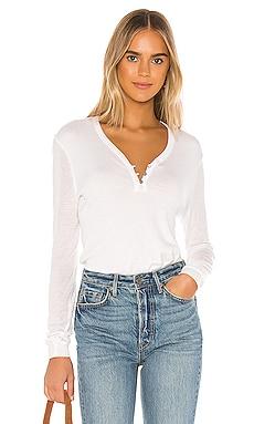 Collection Cashmere Blend Henley Sweater Splendid $97