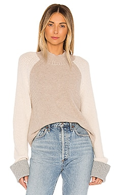 Alta Color Block Cashmere Blend Sweater Splendid $178