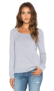 Splendid 1x1 Sweatshirt in Heather Grey