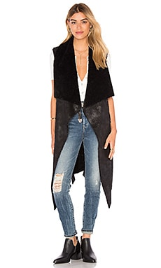 Splendid Solenn Vest in Black