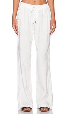 Splendid Double Cloth Sweatpant in White