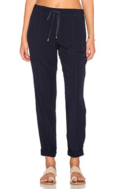Splendid Relaxed Drawstring Trouser in Navy