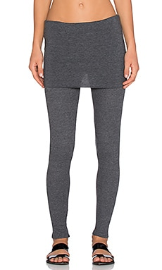 Splendid Skinny Legging in Charcoal