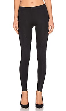 Splendid Coated Legging in Black
