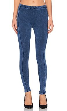 Splendid Mineral Wash Legging in Mineral Navy