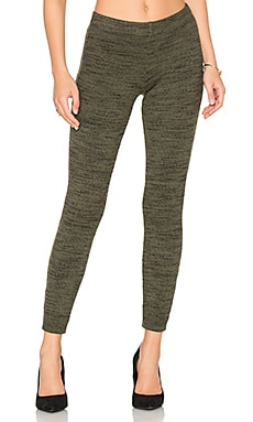 Brushed Tri-Blend Legging in Moss