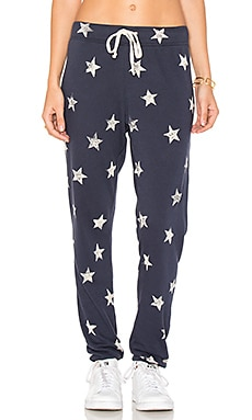Ashbury Star Print Sweatpant in Ink