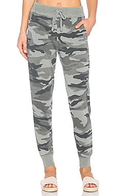 Camo Active Joggers in Vintage Military Olive