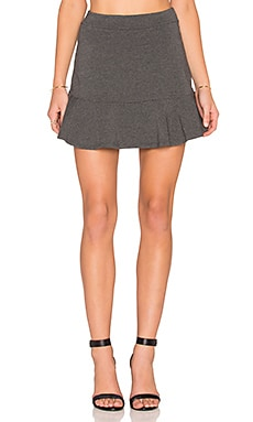 Splendid Mini Skirt in Charcoal