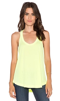 Splendid Vintage Whisper Tank in Neon Yellow