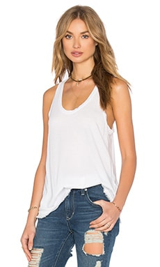 Fringe Tank in White