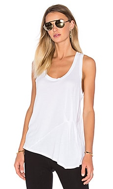 Vintage Whisper Side Detail Tank en Paper