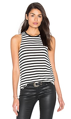 Stripe Tank en Black & White