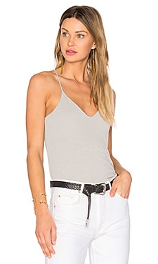 Sandwash Rib Tank in Heather Grey