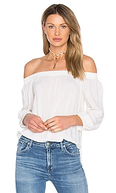 Off Shoulder Top in Pearl