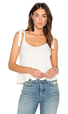 Drapey Lux Rib Tank in Bone