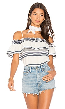 Traveler Stripe Top