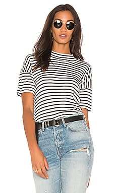Black Venice Stripe Tee